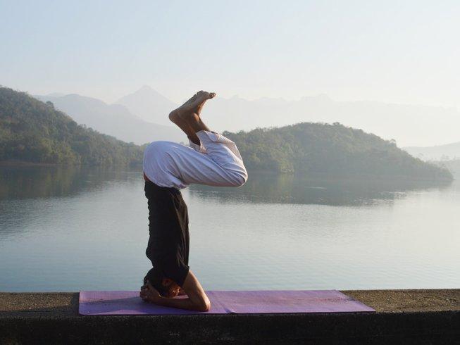 yoga course india