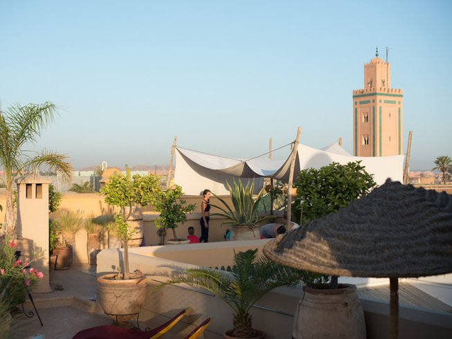 5 Days Mindfulness Meditation and Yoga Retreat in Marrakech, Morocco with Scott Johnson