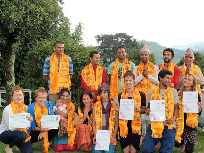 21 Days 200 Hours Yoga Teacher Training in Kathmandu, Nepal