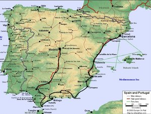 12 Day Explore Beautiful Cities through a Guided Motorcycle Tour in Spain with a Visit to Gibraltar