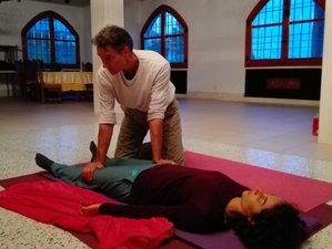 23 días profesorado de yoga y Shiatsu en Cervera del Maestre, España
