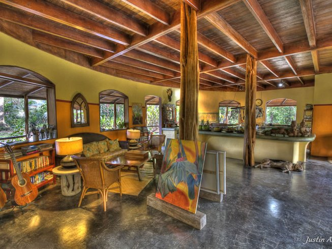 8 Days Personal Painting and Yoga Retreat in Costa Rica