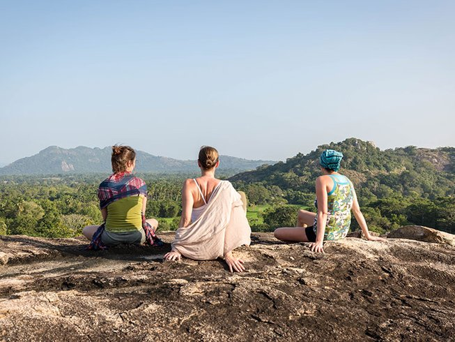 15 Days Hatha Vinyasa Yoga Retreat in Dambulla, Sri Lanka