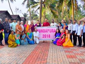 22 jours en vacances culturelles de yoga et Ayurveda sur le bord de la mer dans le sud de l'Inde