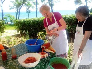 7 Days Passata Sauce Making & Cooking Vacation in Italy