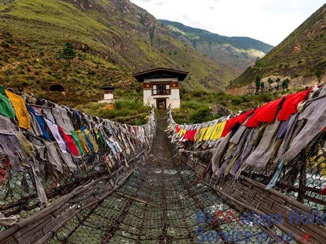 10 jours en retraite de yoga, méditation et aventure au Bhoutan