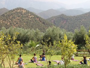 8 Days Authentic Yoga Retreat in a Luxury Mountain Lodge, Morocco