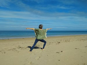 5 jours en stage de yoga et traversée de la baie du Mont-Saint-Michel en août, France