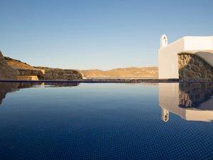 8 Tage Luxuriöser Yoga Urlaub auf Mykonos