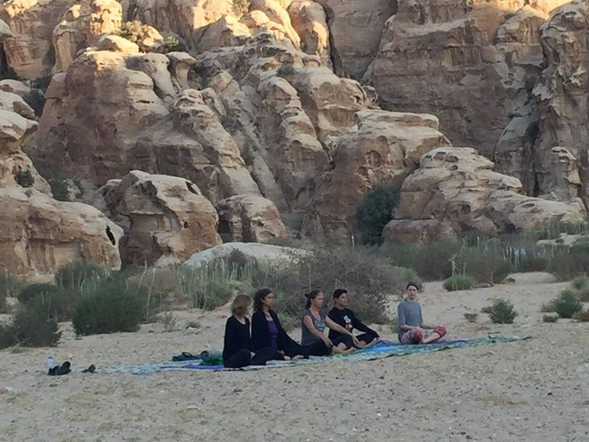 3 Days Desert Connection Yoga Retreat in Jordan