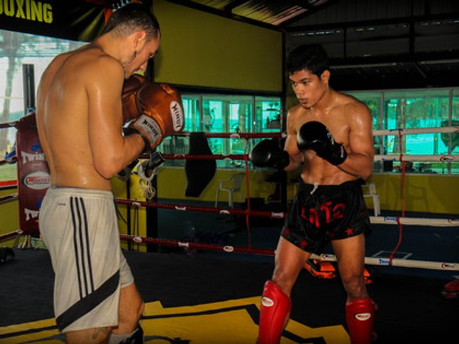 1 Week Thailand Muay Thai Gym in Phuket