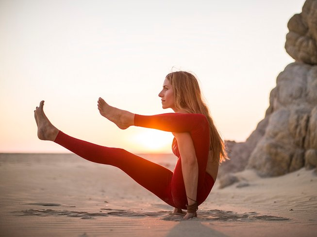 8 jours en stage de yoga avec alignement vinyasa flow au Mexique