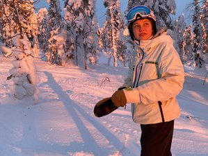 7 Day Yoga Holiday with Snowboarding and Snow Surfing Active Camp in Levi, Lapland