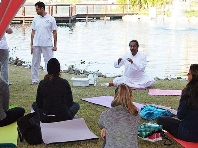 7 días retiro de yoga y Pranayama avanzado con Acharya Bala en Malleret-Boussac, Francia