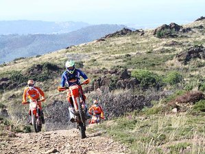2 Days Guided Weekend Enduro Motorcycle Tour in Costa Verde, Portugal