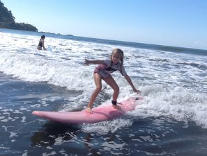 4 Days Fantastic Surf Trip with SUP and Hiking in Jaco, Costa Rica