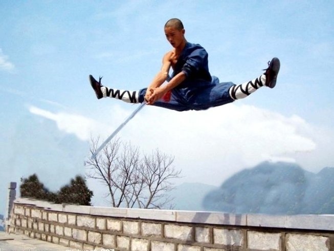 9 Months Learning Kung Fu in China