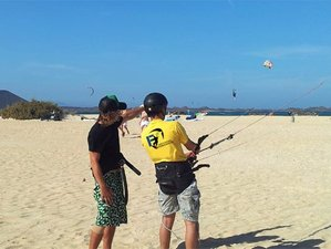 15 Days Learn Spanish and Kitesurfing in Fuerteventura, Spain
