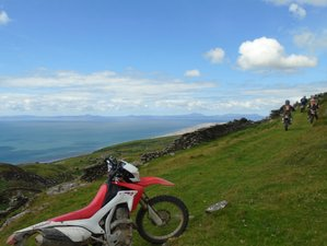 4 Days Trail Ride Guided Motorcycle Tour in Wales, UK