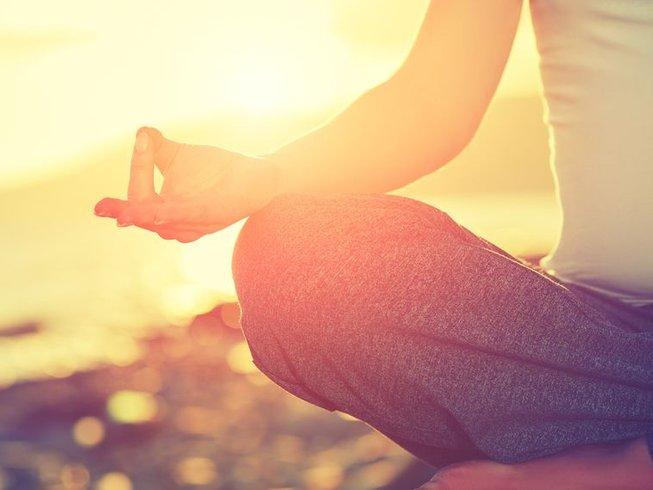 10 días de bienestar, conexión de voz, meditación y retiro de yoga en Goa, India