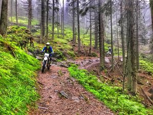 5 Days Guided Enduro Motorcycle Tour for Small Groups in Sibiu Area, Romania