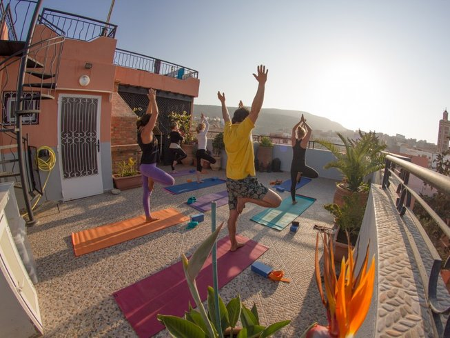 5 Days Yoga and Surf Retreat in Morocco