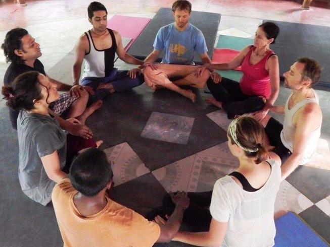 yoga retreat circle