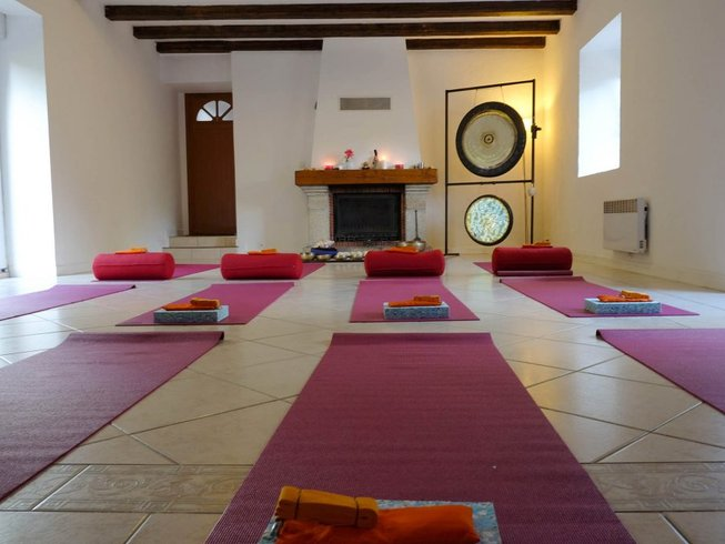 5 Days Gong Therapy and Yoga Retreat France