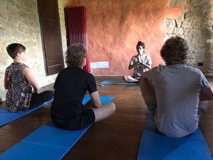 6 jours en stage de yoga dans la nature dans les Apennins à Garfagnana, Toscane