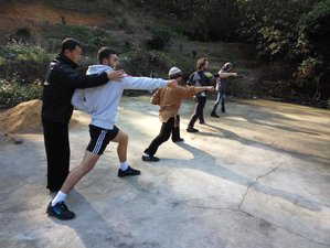 30 Days Kung Fu Training and Buddhism Cultivation at Er Zu Temple, China