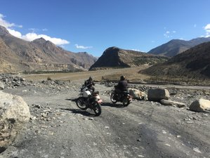 "10 Day Road Trip to ""Manang"" Hills and Guided Motorcycle Tour in Nepal"