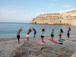 7 días de vacaciones sana tu vida con yoga y cura depurativa en Playa La Joya, Andalucía