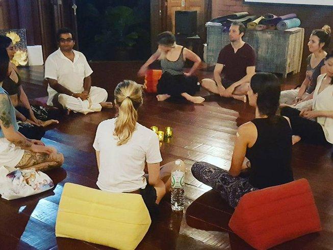 """8 Tage """"Gesunde Essen"""" Meditation und Yoga Urlaub auf Koh Samui, Thailand"""
