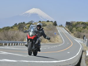 5 Day Symbol of Japan Self-Guided Motorcycle Tour in Kanto