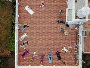 28 días, 500 horas profesorado de yoga en Auroville, India