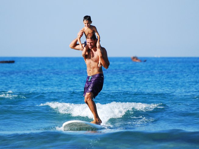 Surf camps for families