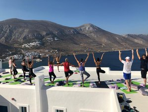 8 Day Journey of Self-Discovery Yoga Holiday on Amorgos Island, Cyclades Islands
