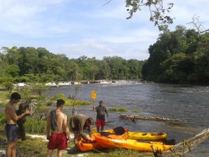 5 Day Figueiredo Kayak Trip and Hiking in the Brazilian Amazonian Jungle