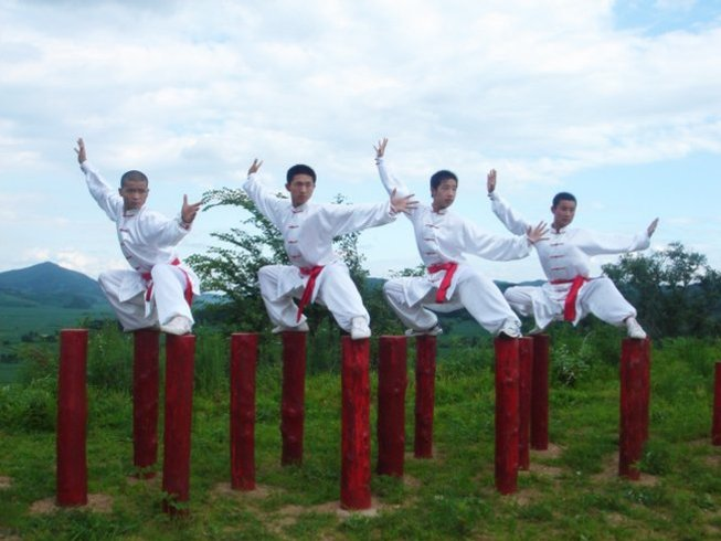 3 Years Authentic Kung Fu Training in Siping, China