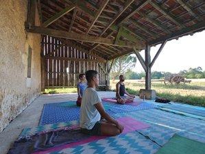 4 jours en week-end de Jivamukti yoga, bain sonore et relaxation à Les Lèches, Dordogne