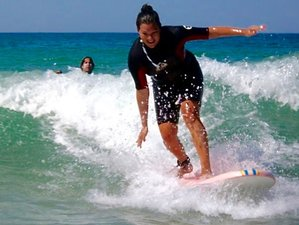 7 Day Private Spanish Course and Surfcamp San Sebastian, Basque Country