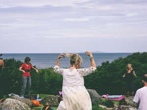 4 Day Earth Rhythms - Full Moon Yoga Retreat in Mid Wales
