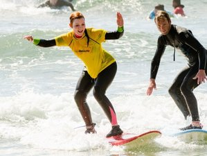 7 Days Surf Camp for Beginner and Intermediate Surfers in Ericeira, Portugal