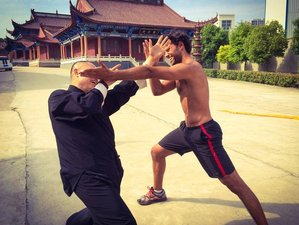 1 Month Beginners Kung Fu Training in Jiangsu, China