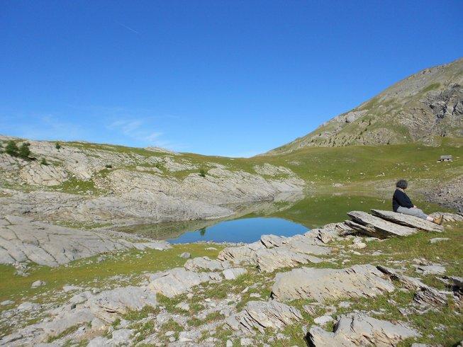 4 jours de randonnée avec méditation et yoga dans les Alpes du Sud, France
