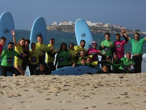 8 Day of X-Treme Surf in Baleal, Peniche