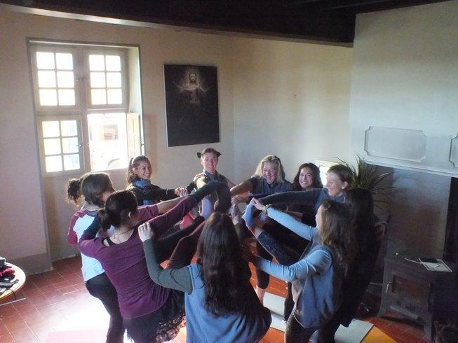 25-Daagse 200-urige Yoga Docentenopleiding in Frankrijk