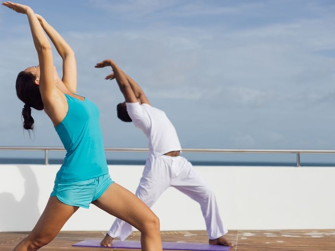8 Days Luxury Cruise and Yoga Retreat in Male Atoll, Maldives