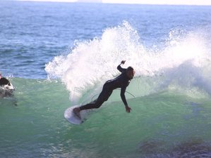 8 Day Private Surf Guiding Camp in Tamraght, Souss-Massa with An ISA Certifcate Surf Guide
