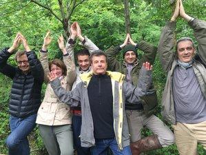 3 jours en week-end de hatha, yin yoga et Sylvothérapie au château de Bonnemare en Normandie